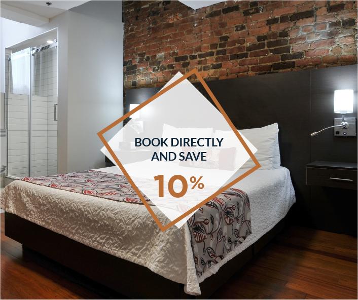 promotion discount 10% booking Auberge le Pomerol Montréal